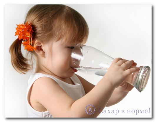 Признаки сахарного диабета у маленьких детей