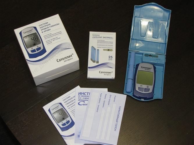Глюкометр Сателлит