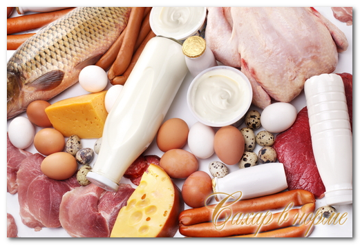 продукты содержащие белок для похудения рецепты