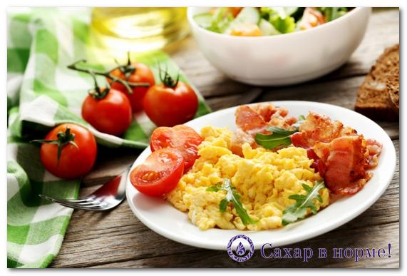 питание при диабете второго типа меню