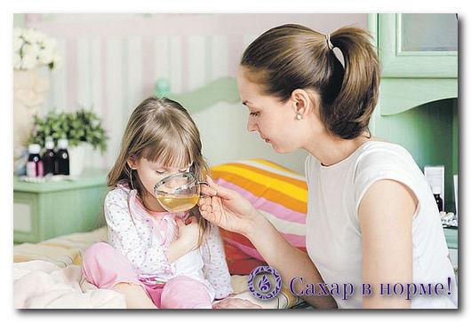 мама лечит своего ребенка