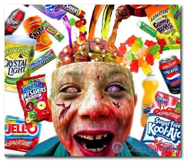 ацесульфам калия влияние на организм