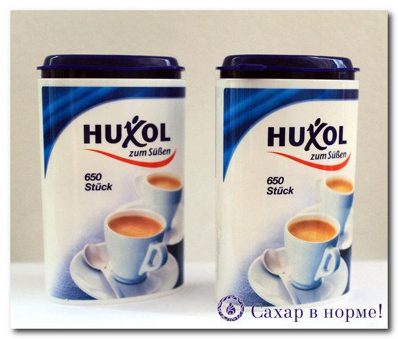 Сахарозаменитель Huxol (хуксол): польза и вред