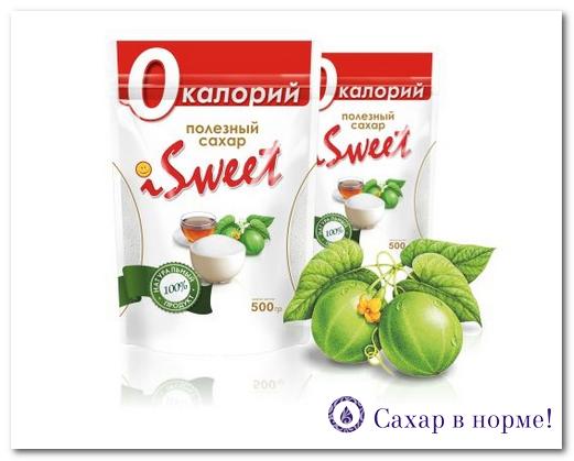 Натуральный заменитель сахара iSweet: из чего он делается?