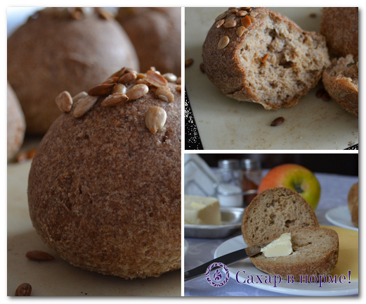 Какой хлеб можно при сахарном диабете и/или лишнем весе (рецепт без муки и сахара)