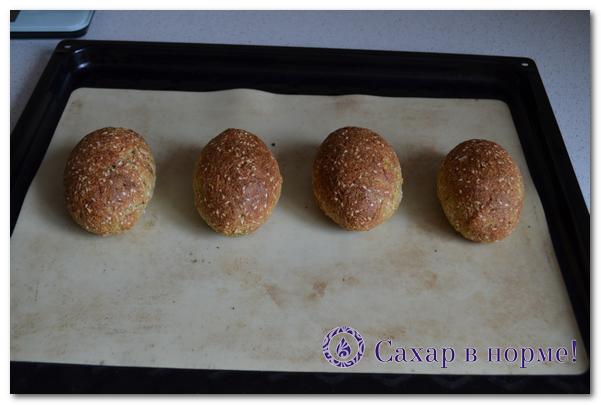 низкоуглеводные булочки пошаговый рецепт