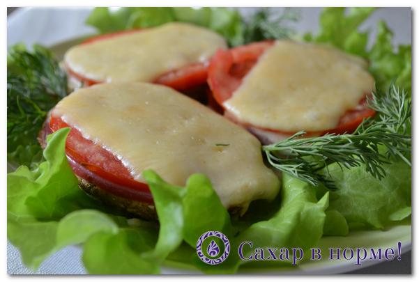 горячие бутерброды без муки
