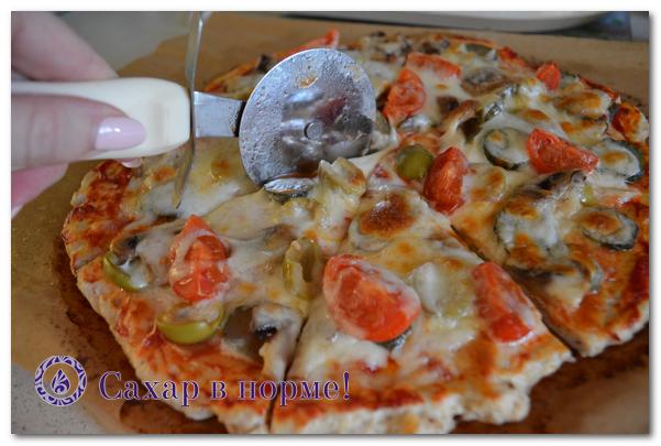 Как приготовить низкоуглеводную пиццу