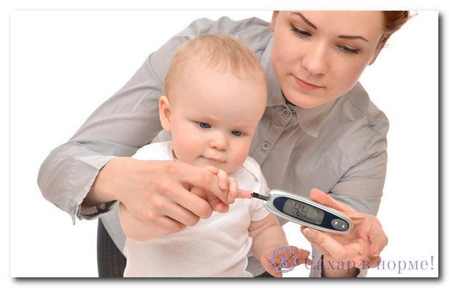 детский сахарный диабет его причины и особенности