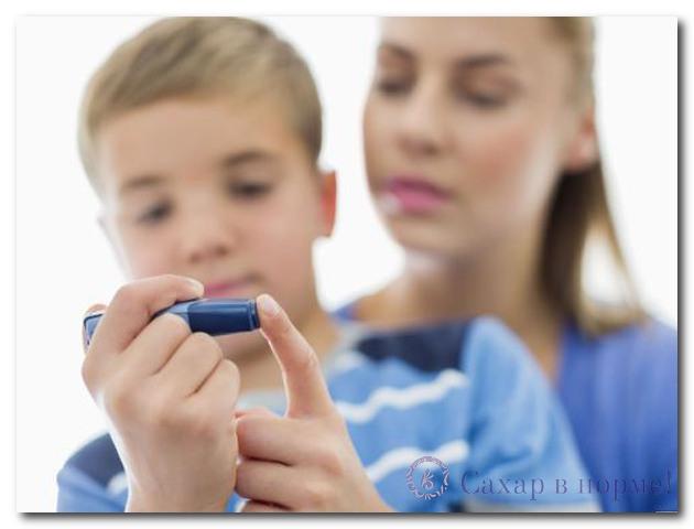 сахарный диабет у подростков причины