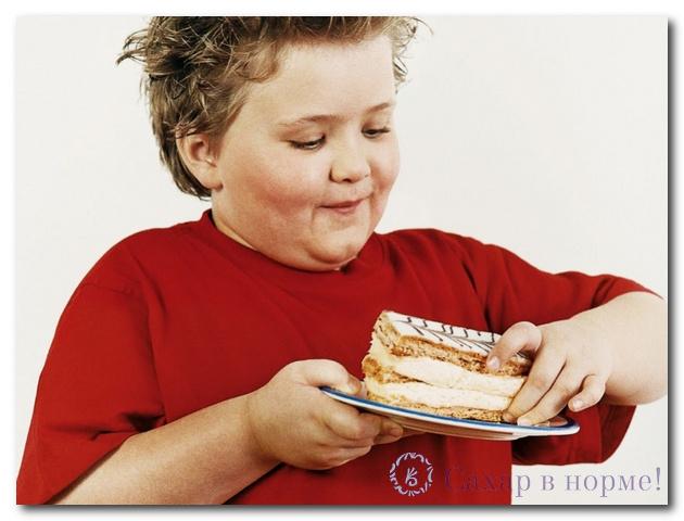 признаки диабета у ребенка