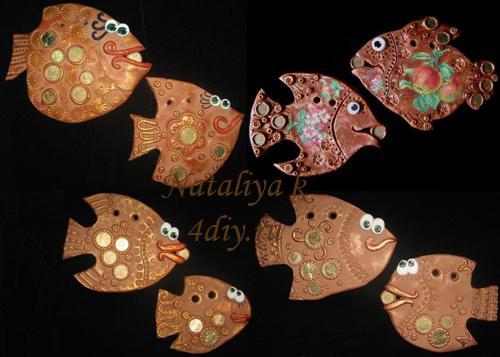 Денежные рыбки коллаж копия