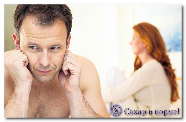 признаки диабета у мужчин