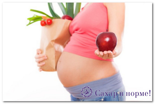 диета при гестационном сахарном диабете беременных