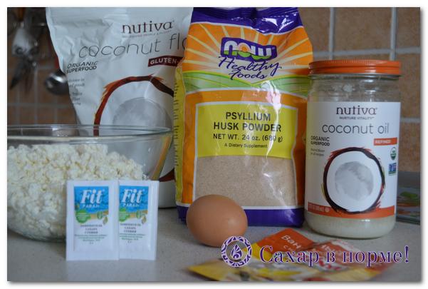 Низкоуглеводный пошаговый рецепт сырников