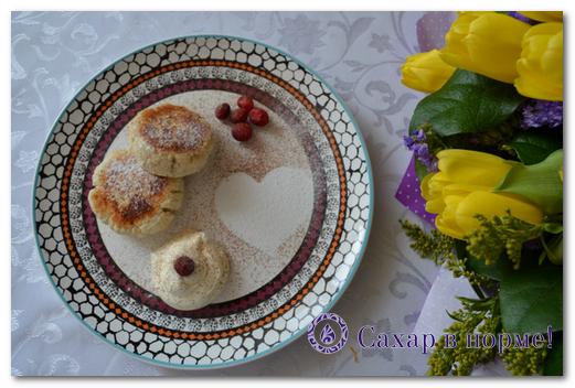 Низкоуглеводный пошаговый рецепт сырников (творожников)
