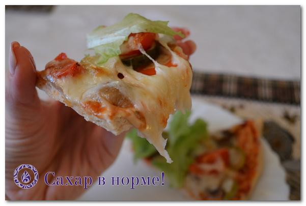 Как делается низкоуглеводную пиццу