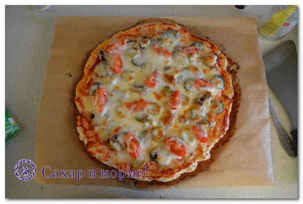 секрет безуглеводной пиццы